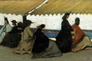 La rotonda di Palmieri, dipinto di Giovanni Fattori