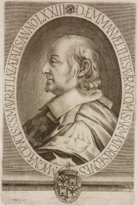 Ritratto di Emanuele Tesauro (1592-1675), scrittore e drammaturgo italiano