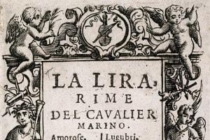 La Lira è la raccolta di poesie di Giovan Battista Marino che contiene la poesia Onde dorate