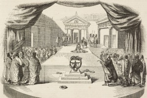 Creonte che piange sul corpo di Emone: l'ultima scena dell'Antigone di Sofocle