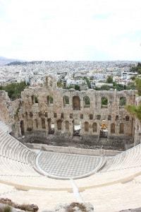 Odeo di Erode Attico, Atene