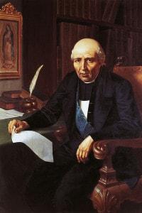 Ritratto di Miguel Hidalgo, sacerdote e rivoluzionario messicano