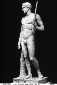 Copia romana del Doriforo di Policleto conservata ai Musei Vaticani