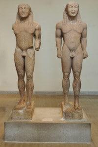 Le statue di Kleobis e Biton
