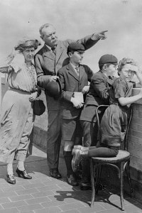 Arthur Conan Doyle e la sua famiglia (Aprile 1922)