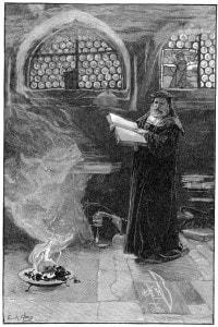 Il Dottor Faust evoca Mefistofele
