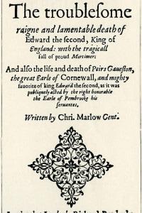 Edoardo II di Christopher Marlowe, 1598