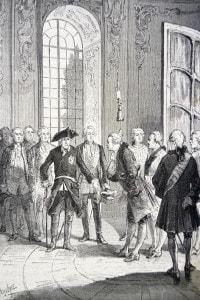 Jean Le Rond d'Alembert e Federico Il Grande, Parigi 1874