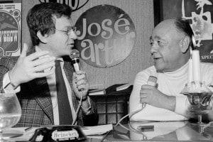 """José Artur riceve Eugène Ionesco nel programma """"Pop club"""""""