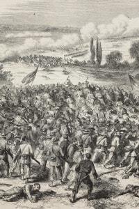 Guerra di secessione americana: battaglia tra l'Unione e i Confederati, 3 maggio 1862