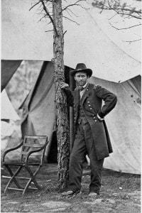 Generale Grant in uniforme militare