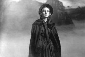Jane Eyre: immagine tratta da una scena del film di Robert Stevenson