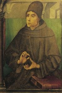 Ritratto di Giovanni Duns Scoto, noto anche come Doctor Subtilis (Duns, 1266-Colonia, 1308): filosofo scozzese, teologo e studioso