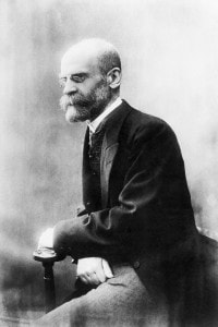 Emile Durkheim (1858-1917): sociologo e professore socialista francese