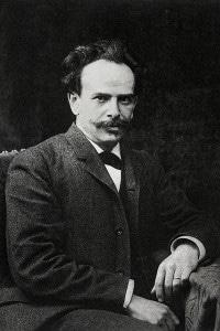 Ritratto dell'antropologo americano Franz Boas (1858-1942). Fotografia del 1906
