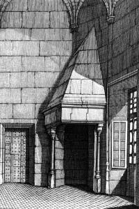 Una cella del castello di Vincennes, dove fu imprigionato il Marchese de Sade