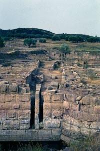 Rovine dell'antica città di Elea-Velia