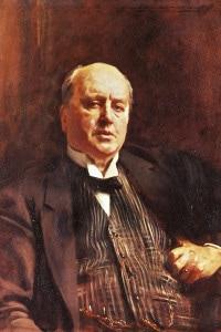 Ritratto di Henry James (1843-1916). Dipinto del 1913 di John Singer Sargent. Olio su tela, 85x67 cm