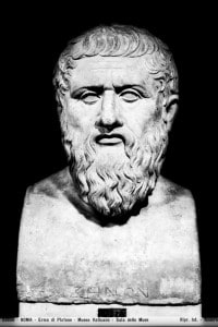 Copia romana dell'erma del filosofo greco Zenone conservata nei Musei Vaticani