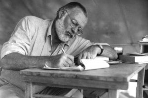 Ernest Hemigway in Kenya. Settembre 1952
