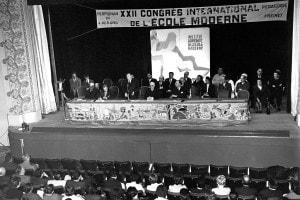 Congresso internazionle L'Ecole Moderne (Francia, 1960). Pedagogia di Freinet