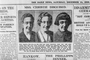 """La scomparsa di Agatha Christie. """"Agatha sotto mentite spoglie"""": il Daily News mostra diverse foto della scrittrice"""