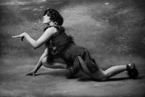 """Colette (1906) nel ruolo di """"Le petit faune in le desir, la chimere et l'amour"""" al Teatro Mathurins"""