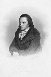 Ritratto di Johann Heinrich Pestalozzi (1746-1827)
