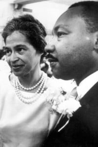 Martin Luther King e Rosa Parks
