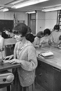 Scuola media di John Dewey, aprile 1967