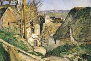 La casa dell'impiccato di Paul Cézanne, 1873