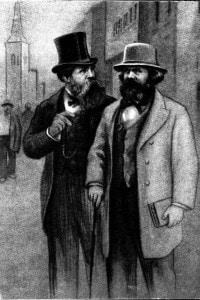 Karl Marx e Friedrich Engels, 1850