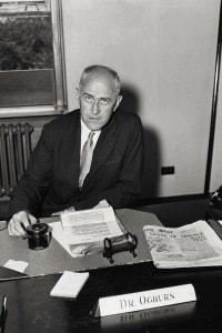 William Ogburn: sociologo ed economista statunitense