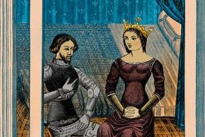 Lancillotto e Ginevra, Chrétien de Troyes