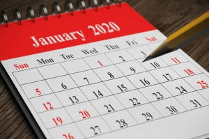 Come si scrivono le date in inglese
