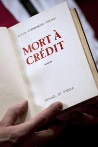 Mort à crédit: la prima edizione a stampa del romanzo francese di Louis-Ferdinand Céline