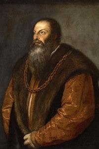 Ritratto di Pietro Aretino, 1527