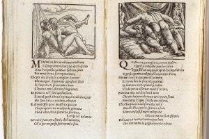 Sonetti lussuriosi di Pietro Aretino, con illustrazioni di Giulio Romano