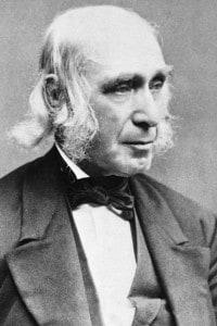 Amos Bronson Alcott (1799-1888), trascendentalista americano, insegnante e scrittore