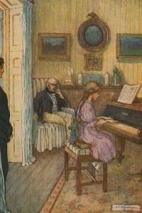 Beth suona il piano del  Signor Laurence