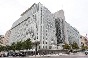 La sede della Banca mondiale a Washington. E' un'istituzione finanziaria internazionale delle Nazioni Unite che fornisce aiuti e finanziamenti ai paesi in via di sviluppo