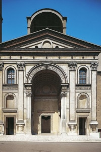 Basilica di Sant'Andrea di Mantova. Architetto: Leon Battista Alberti
