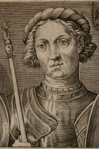 Ritratto di Gianfrancesco Gonzaga (1395-1444). Primo marchese di Mantova