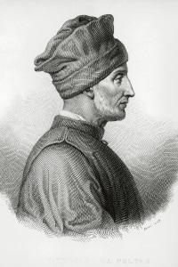 Ritratto di Vittorino da Feltre. Umanista e insegnante italiano. Italia, XIV-XV secolo