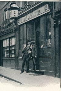 Negozio cinese a Londra, 1900