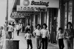 Giovani membri della comunità vietnamita nella Cabramatta di Sydney,  17 novembre 1982.