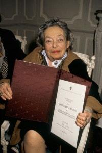 Marguerite Duras, vincitrice del Premio di Stato austriaco per la letteratura europea