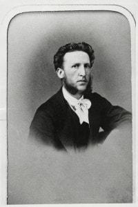 Iginio Ugo Tarchetti (San Salvatore Monferrato, 1839 - Milano, 1869). Esponente della Scapigliatura milanese