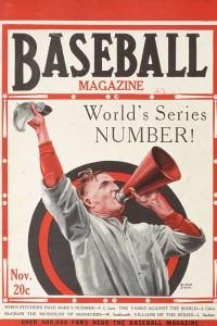 Baseball Magazine, novembre 1927