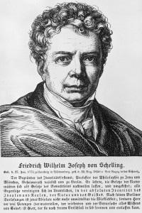 Friedrich Schelling nel 1820